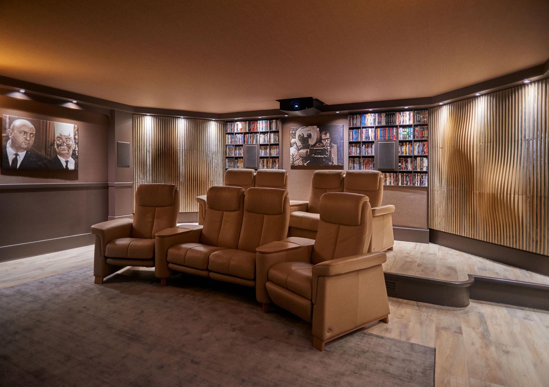 Une Salle De Cinema Au Style Classique Chic Questions D